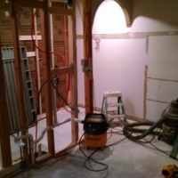 Master Bath During
